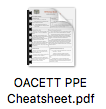 Oacett_ppe_cheat_sheet