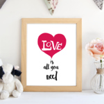 Love_is_all_you_need_framed