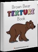 Brown bear book cover mockup