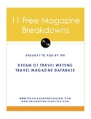 11 full travel magazine database breakdowns