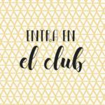 Entra en el club