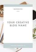 Creative-blog-names