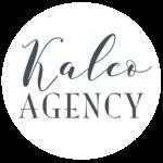 Kaleo white logo 2018