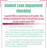 Convert kit student loan