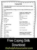 Free coping skills download