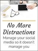 No more distractions