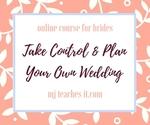 Take control   plan your own wedding