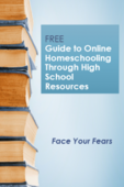 Free online homeschooling high school resource guide cover 200x300