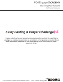 5 day fasting   prayer snapshot tiffytalks