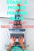 Pin 2   start a money making blog