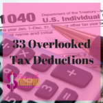 33 overlooked tax deductions