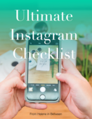 Ltimate instagram checklist copy
