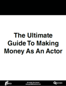 Ultimate guide make money acting cover