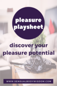 Coverpage worksheet   discover pleasure potential