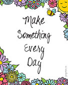 Make-something-every-day-small