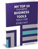 Top tools paperback cover