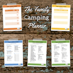 The family camping planner small