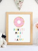 Donut makes me happy