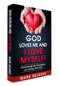 God loves me and i love myself book cover slant small