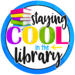 Staying cool in the library logo