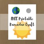 Ramadan printable preview