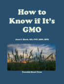 Cover how to know if its gmo 2