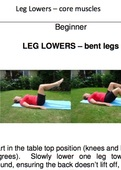 7 bodyweight exercise