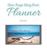 One page blog post planner copy small