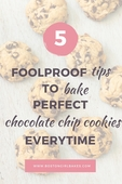 5 tips to prevent your cookies from spreading image