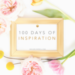 100 days photo frame