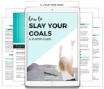Slay your goals guide preview pages