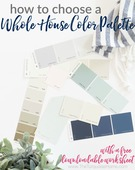 How to create a whole house color palette 4