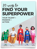 20 way to find your superpower 250
