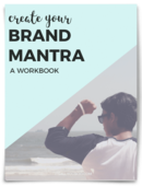 Create brand mantra cover