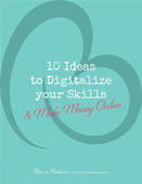 Book cover 10 ideas to digitalize your skills copy