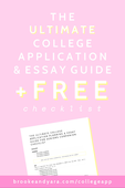 Ultimate college app essay guide