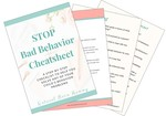 Stop bad behavior cheatsheet preview image file