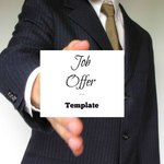 Job offer template picture
