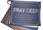 Pray deep prayer cards