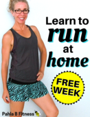 Cover free week   learn to run at home walking   running workout program