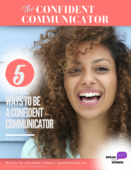 The confident communicator e book cover
