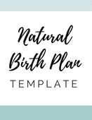 Naturalbirth_plan_template