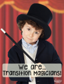 Transition magician poster
