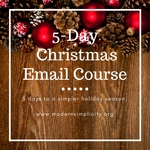 5 day christmas email course