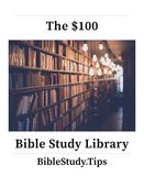 100 bible study library biblestudytips image