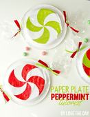 Paper plate peppermint tutorial1