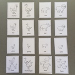 16 grid of cards