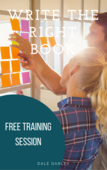 Sign up write the right book training