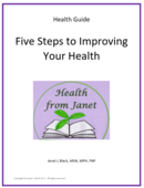 Cover for 5 steps to improving your health
