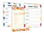 Smart goals printable free